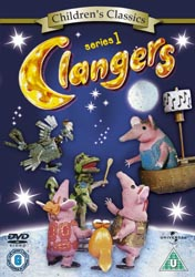 Clangers DVD Cover