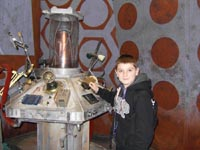 Tom at the Doctor Who Experience