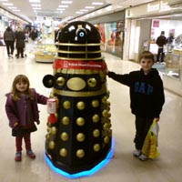 Shopping Centre Dalek